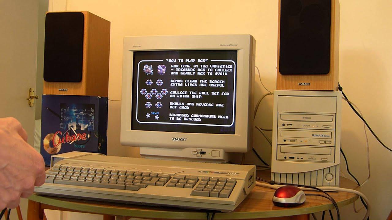 Atari Falcon 030 (UK) Demonstration
