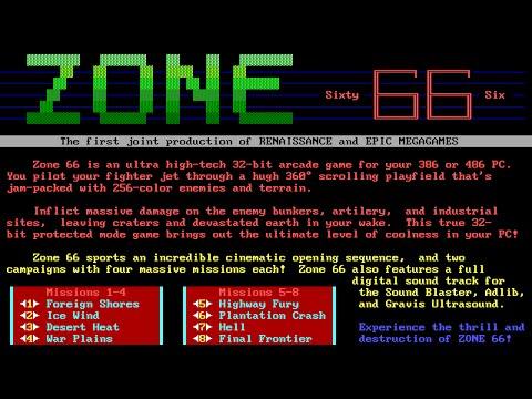 Zone 66 full soundtrack (Sound Blaster + Gravis UltraSound + AdLib)
