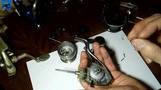 Заміна пружини лесоукладователя котушки DAIWA procaster 2500 Т. О. просте рішення.