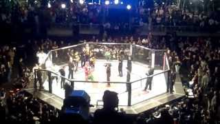 UFC On Fuel TV Vitor Belfort vs. Luke Hockhold / Entrance + Introduction + Official Decision