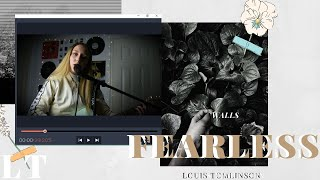 FEARLESS - Louis Tomlinson WALLS cover