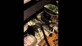 Inside A VHS Video Player
