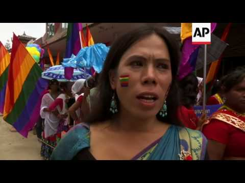 More than 500 at gay pride march in Nepal