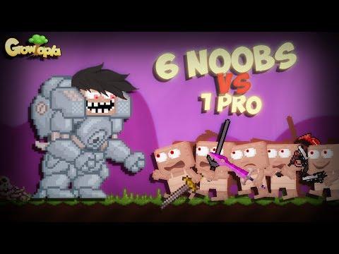 6 Noobs vs