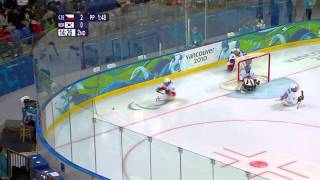 Korea v Czech Republic - ice sledge hockey - Vancouver 2010 Paralympic Winter Games