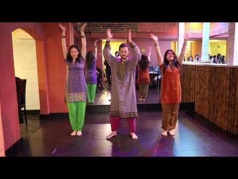 Entammede Jimikki Kammal / Dance group Lakshmi / Holi event in Karachi Darbar Restaurant