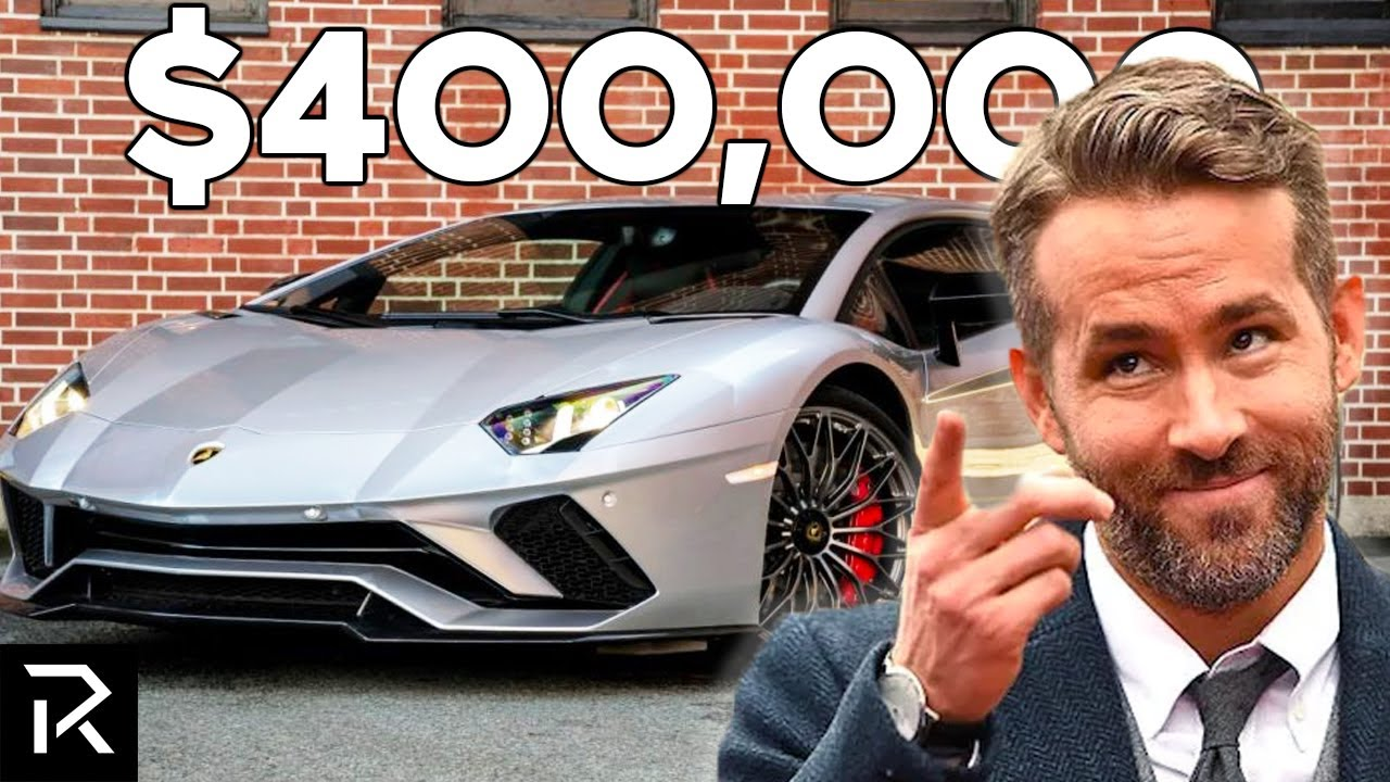How Ryan Reynolds Spent $100 Million