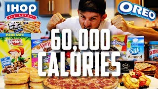 One of ErikTheElectric's most viewed videos: THE 60,000 CALORIE CHALLENGE