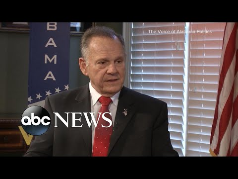 Moore denies allegations in new TV interview