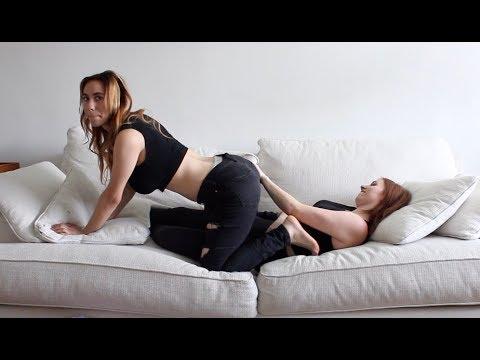 Lesbian sex postion