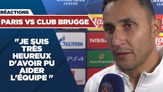 VIDEO: REACTIONS : PARIS SAINT-GERMAIN vs CLUB BRUGGE