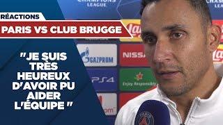 VIDEO: REACTIONS : PARIS SAINT-GERMAIN vs CLUB BRUGGE