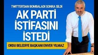 Ordu Belediye Başkanı Enver Yılmaz'ın İstifası İstendi!