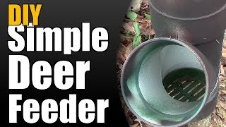 Diy Simple Deer Feeder
