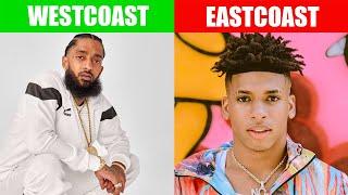 EAST COAST VS WEST COAST RAPPERS 2019 PART. 2