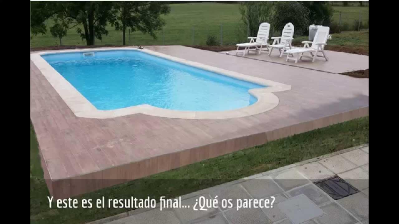Recubrimiento de piscina con sistema peygran de nivelaci n for Recubrimientos para piscinas