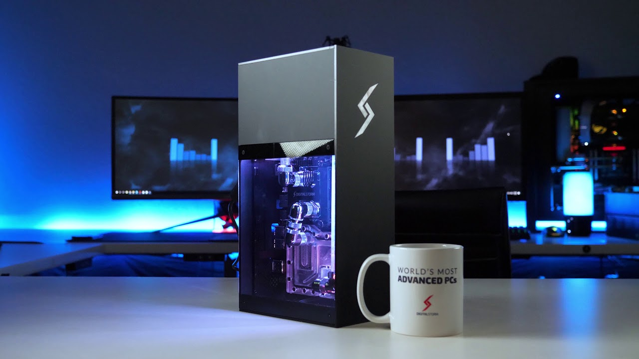 Digital Storm shoehorns a liquid-cooled GTX 1080 into a really small
