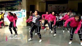 Dance with great enthusiasm #IECinnovision2k20 #echosmart