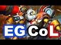 EG vs CoL - SUMMIT 8 Minor DOTA 2 - NA Battle (OG Commentators!)