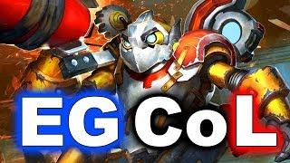 EG vs CoL - SUMMIT 8 Minor DOTA 2 - NORTH AMERICA Battle (OG Commentators!)