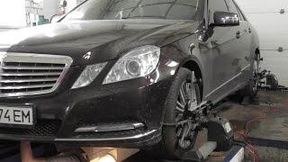 Mercedes-Benz E350 ремонта ходовой, развал схождение на стенде bosch fwa 510(по вопросам ремонта и обслуживание вашего авто обращайтесь по телефону 0503203208., 2016-06-02T14:27:52.000Z)