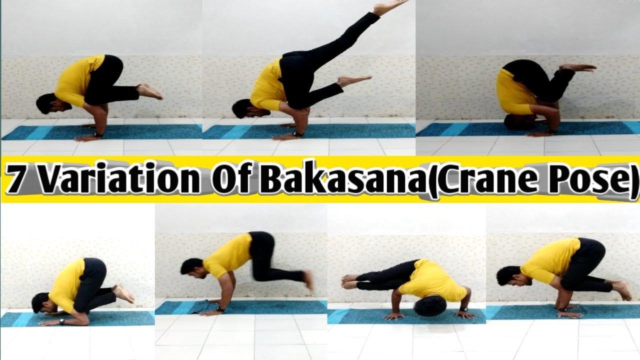 Bakasana Variation
