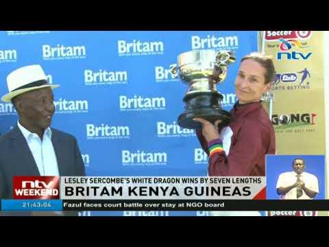 Lesley Sercombe's White Dragon wins by seven lengths - Britam Kenya Guineas