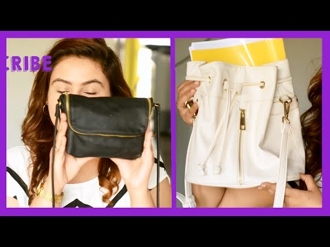 Whats In my bag H&M & Forever 21 {Delhi fashion blogger}