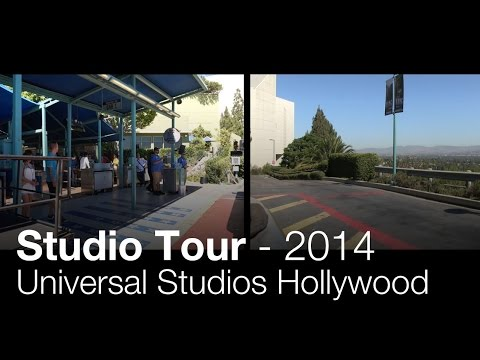 Studio Tour 2014 - Complete Experience (Both Sides) - Universal Studios Hollywood (4K)