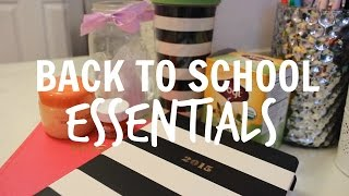 Back To School Essentials Thumbnail