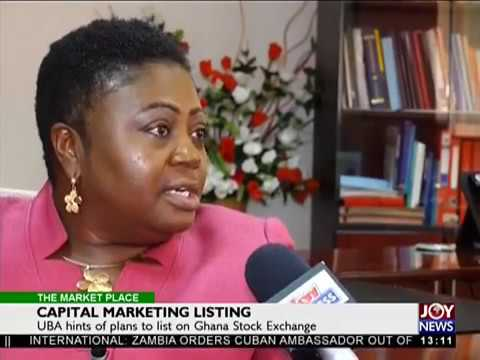 Capital Market Listing - The Market Place on Joy News (4-4-18)