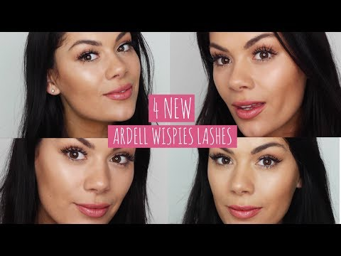 2ad20deb892 NEW ARDELL WISPIES LASHES - FOUR NEW STYLES | Beauty's Big Sister - YouTube