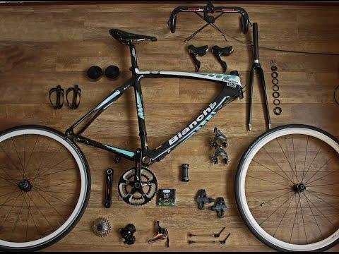 How to assemble a road bike - Bianchi