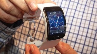 Samsung Gear S Smartwatch Has A Huge Curved Screen And Its Own Cellular Service
