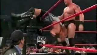 Brock Lesnar vs RVD Raw Highlights