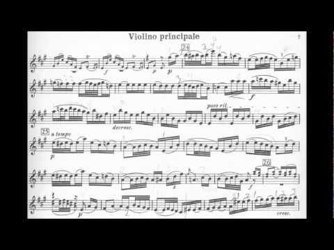 Mozart-Casadesus mvt2+3 Adelaide violin concerto in D Major K. Anh. C 14.05