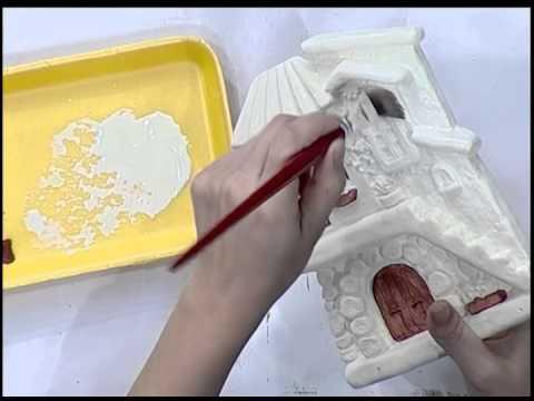Como pintar en yeso con look envejecido youtube - Como pintar un radiador ...