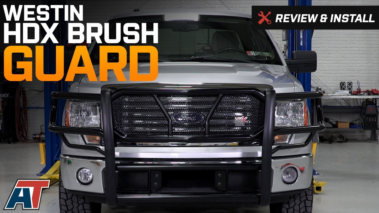 2009-2014 F150 Westin HDX Brush Guard Review & Install ...