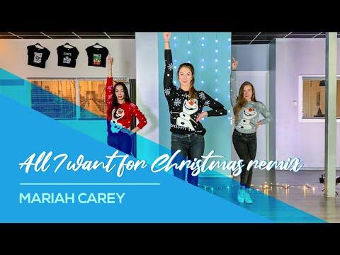 All I want for Christmas (remix) - Mariah Carey - Christmas Dance Choreography - Baile Navidad