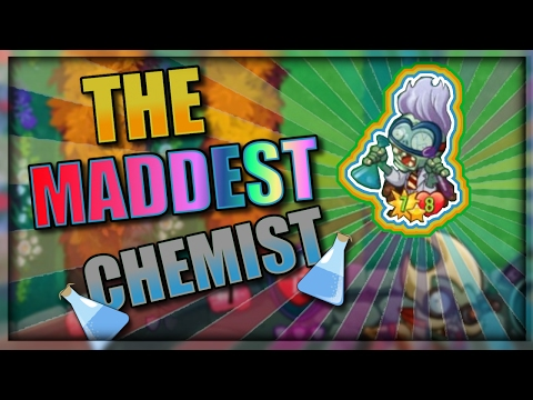 MAD CHEMIST RNG DECK | Plants vs. Zombies: Heroes Gameplay