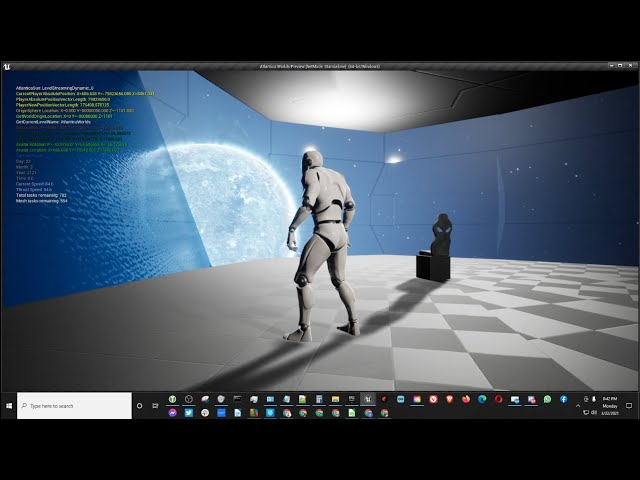 Localized Spaceship Gravity in Unreal Engine 4.26