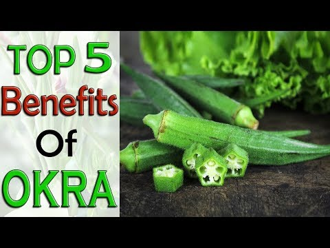 Top 5 Benefits of Eating Okra Every Day – Health and Fitness || Life Care