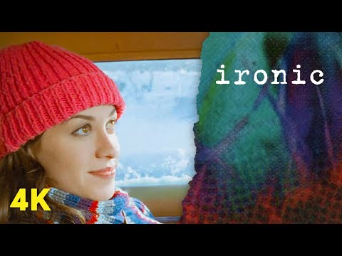 Video - Alanis Morissette - Ironic (Official 4K Music Video)