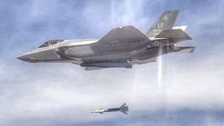 F-35 Laser-Guided Bomb Drop