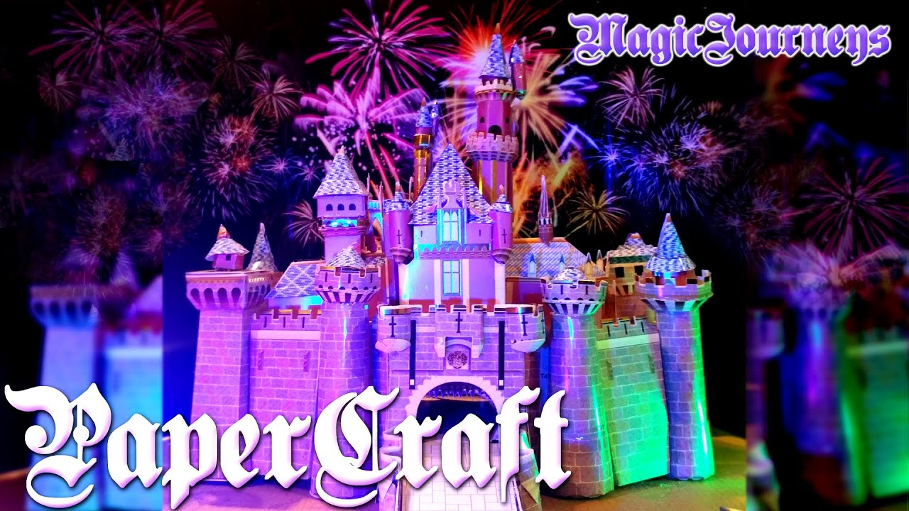 Papercraft Let's PaperCraft the Sleeping Beauty Castle!