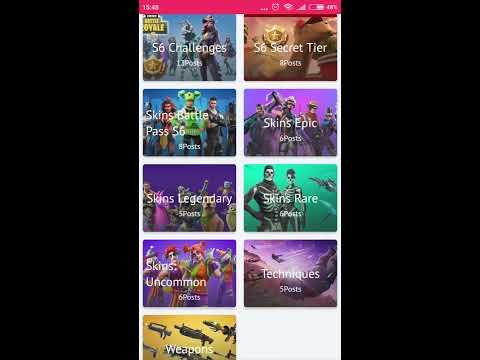 Guide Android App For Fortnite Battle Royale - Season 6