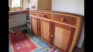 Making A Shaker Style Sideboard