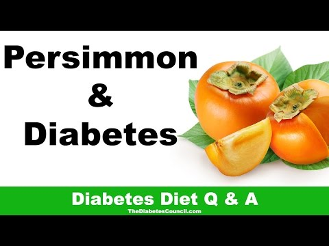 Is Persimmon Good For Diabetes?