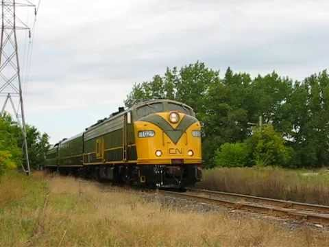 CN Family Day Train in Winnipeg 2014/09/06 #4