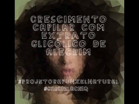 #Projetorapunzelnatural: Crescimento Capilar Com Extrato Glicólico De Alecrim